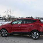2014 Hyundai Tucson Limited side profile
