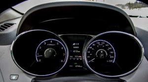 2014 Hyundai Tucson Limited instrument cluster