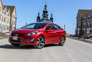 2014 Hyundai Elantra Limited front 1/4