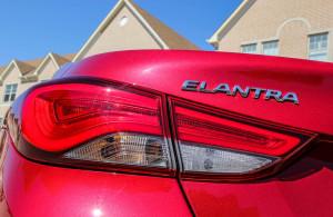 2014 Hyundai Elantra Limited taillight
