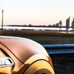 2014 Mini Cooper S fender and skyline