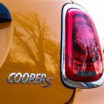 2014 Mini Cooper S rear badge
