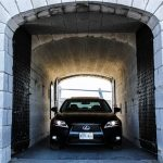 2014 Lexus GS350 AWD in tunnel
