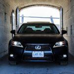 2014 Lexus GS350 AWD tunnel close-up