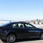 2014 Lexus GS350 AWD rear 1/4
