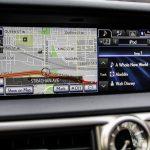 2014 Lexus GS350 AWD navigation display