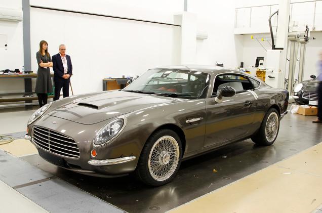 The Speedback GT is a Modern Aston Martin DB5