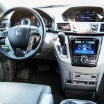 2014 Honda Odyssey Touring interior