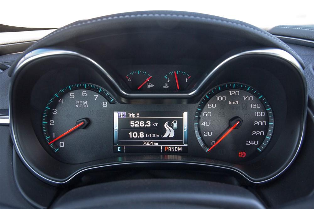 2014 Chevrolet Impala instrument cluster