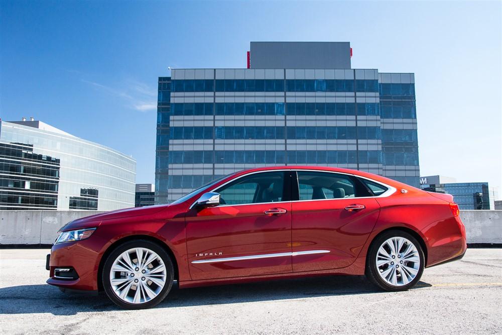 2014 Chevrolet Impala side profile