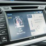 2014 Toyota Highlander Limited AWD navigation screen