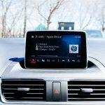 2014 Mazda3 GT infotainment screen