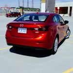 2014 Mazda3 GT rear 1/4
