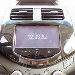 2014 Chevrolet Spark LT MyLink screen