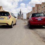 2014 Chevrolet Spark LT rear with Mini