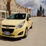 2014 Chevrolet Spark LT front 1/4