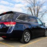 2014 Honda Odyssey Touring rear 1/4