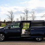 2014 Honda Odyssey Touring side profile