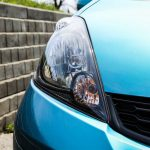 2014 Honda Fit Sport headlights