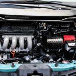 2014 Honda Fit Sport engine bay