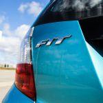 2014 Honda Fit Sport rear emblem