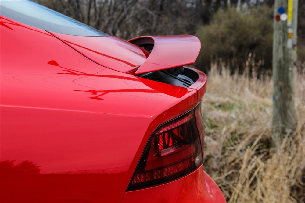 2014 Audi RS7 deployable spoiler