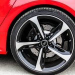 2014 Audi RS7 rear wheel