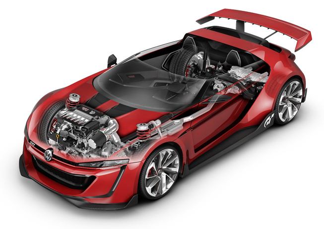 Volkswagen's GTI Roadster, The Vision Gran Turismo Concept