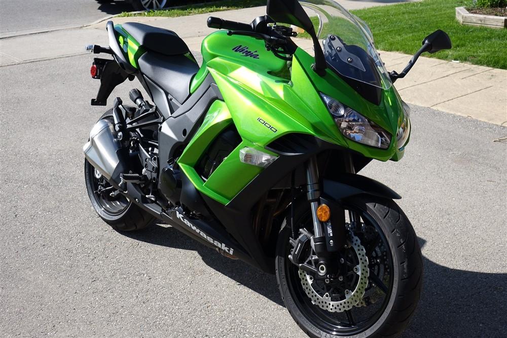 2014 Kawasaki Ninja 1000 Review