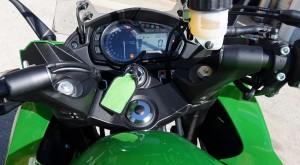 2014 Kawasaki Ninja 1000 instrument cluster/handlebars