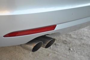 2014 Volkswagen Jetta TDI tailpipe