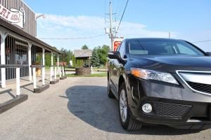 2014 Acura RDX Technology side profile