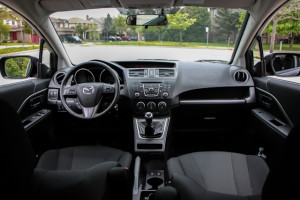 2014 Mazda5 GT interior