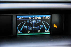 2015 Subaru Forester 2.5i multi-function screen