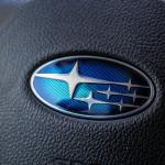 2015 Subaru Forester 2.5i steering wheel emblem