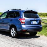 2015 Subaru Forester 2.5i rear 1/4