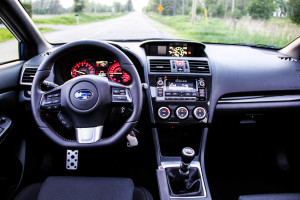 2015 Subaru WRX Sport interior