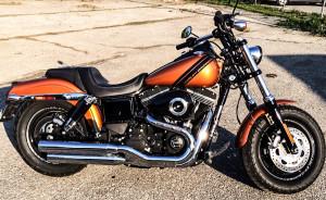 2014 Harley-Davidson Fat Bob side profile