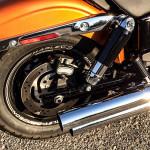2014 Harley-Davidson Fat Bob exhaust
