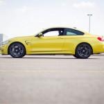 2015 BMW M4 side profile