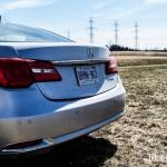 2014 Acura RLX rear 1/4