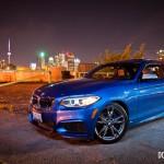 2014 BMW M235i front 1/4