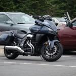 Road Trip: 2014 Honda CTX1300 parking lot