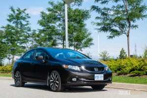 2014 Honda Civic Touring front 1/4