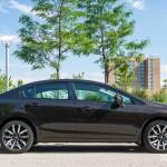 2014 Honda Civic Touring side profile