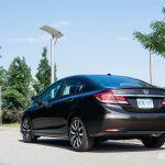 2014 Honda Civic Touring rear 1/4