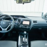 2014 Honda Civic Touring interior