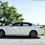 2014 Lexus GS350 side profile