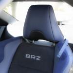 2015 Subaru BRZ seat