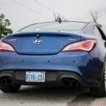 2014 Hyundai Genesis Coupe 3.8GT rear